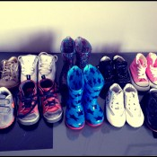 la famille shoes addict